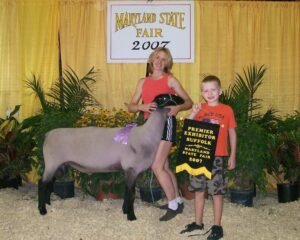 2007 MD State Fair - Premier Exhibitor, Reserve Champ. Ram 0645 Lefty